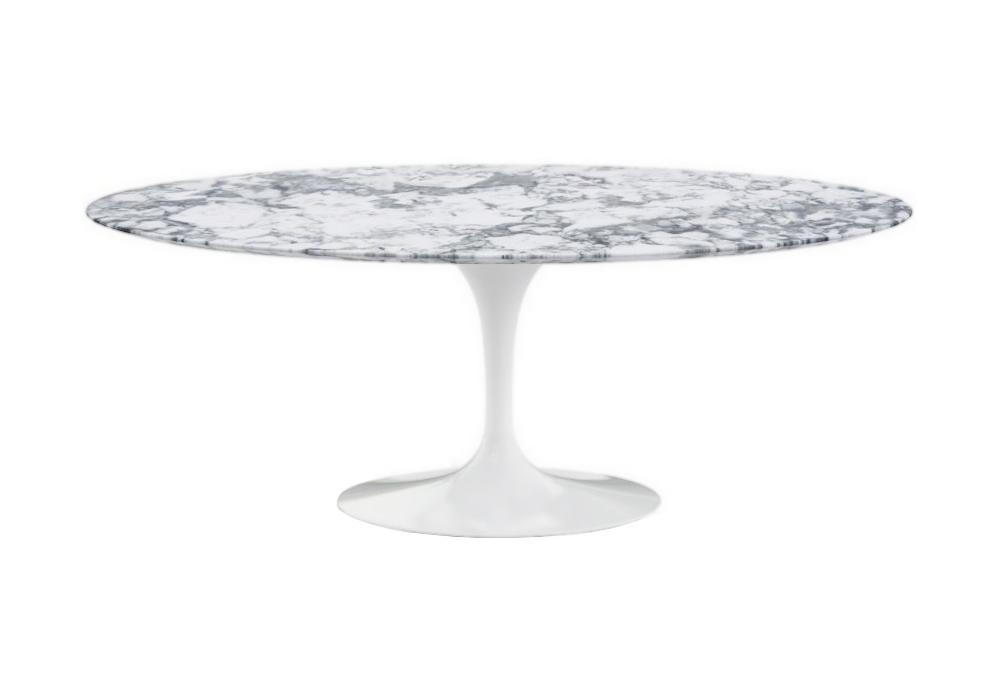 Saarinen oval table marble knoll milia shop - Saarinen oval dining table dimensions ...
