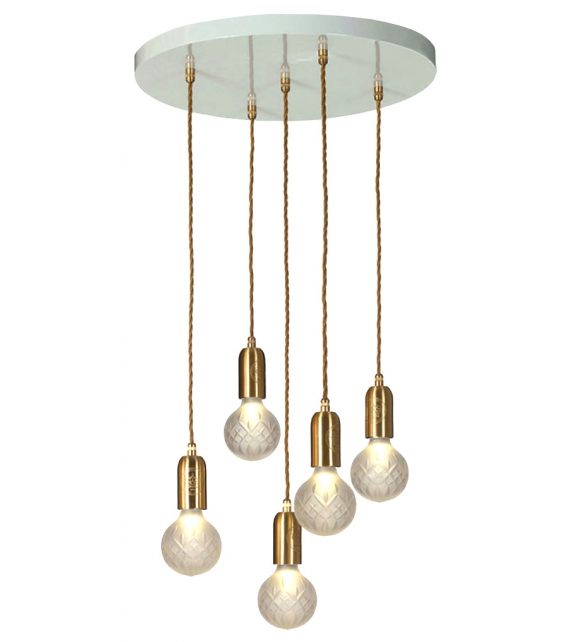 Crystal Bulb Lee Broom Pendant Lamp