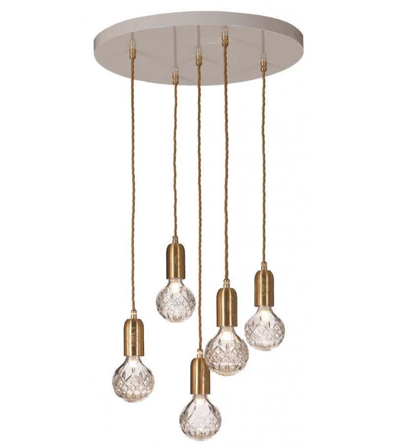 Crystal Bulb Lee Broom Pendant Lamp