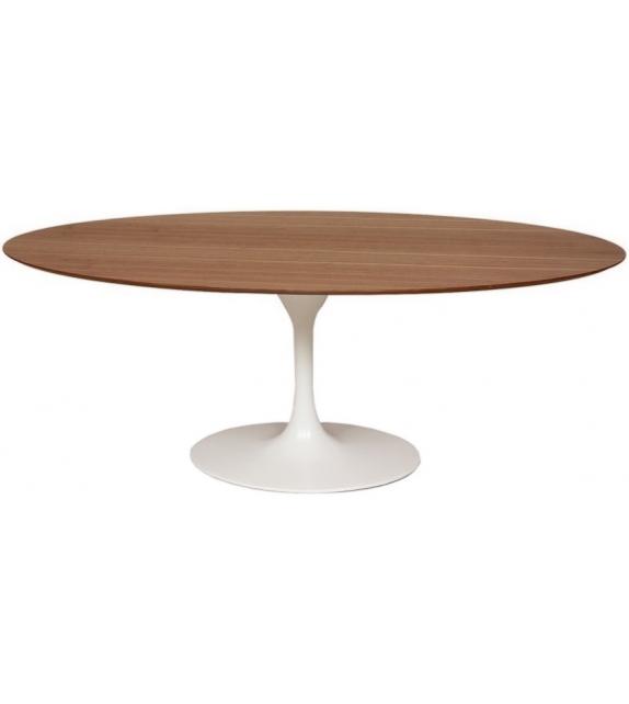 Saarinen tavolo ovale in legno knoll milia shop - Tavolo ovale saarinen knoll ...