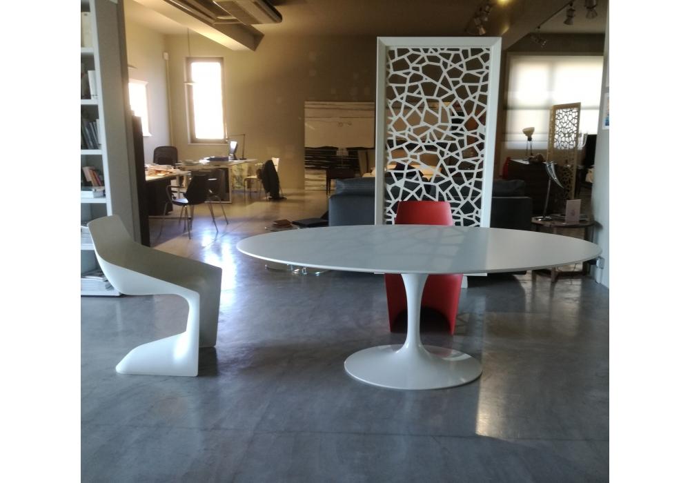 Saarinen tavolo ovale in legno knoll milia shop - Tavolo knoll saarinen ovale ...