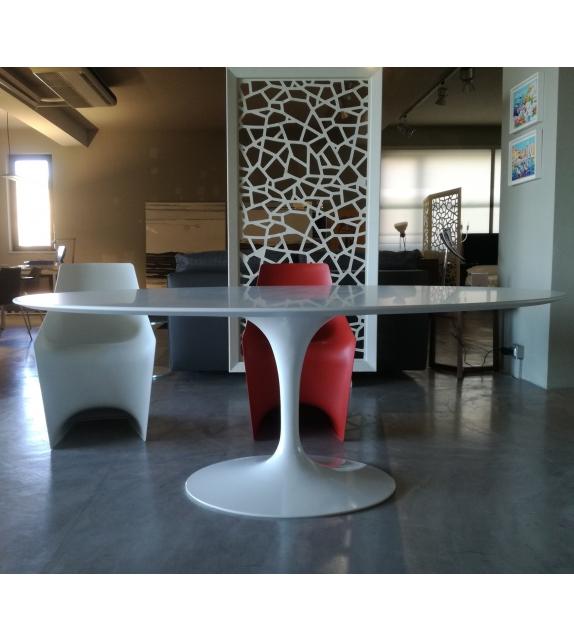 Saarinen Tavolo Ovale In Legno Knoll