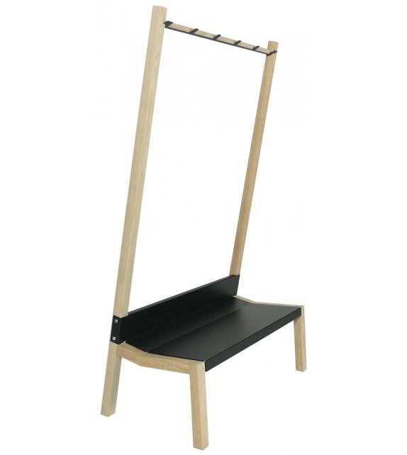 banc porte manteau drawer banc bois et blanc banc porte manteau yak moormann banc banc. Black Bedroom Furniture Sets. Home Design Ideas