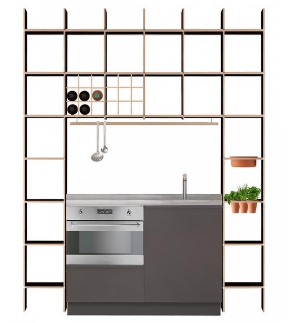 FNP Kitchen Moormann Shelving System