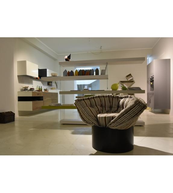 In Ausstellung - Huggy Lago Sessel