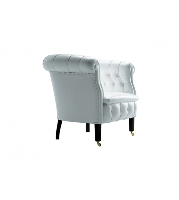 Fumoir armchair poltrona frau milia shop for Chaise longue frau
