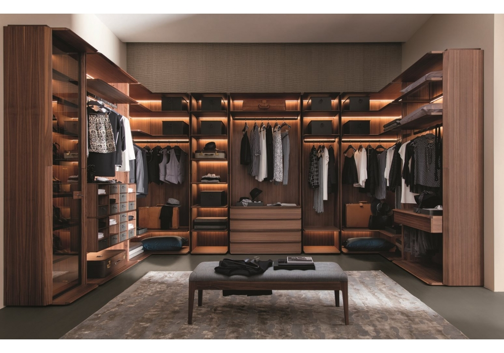 My suite porada modular walk in closet milia shop for Suite modulare