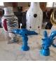 Momonsters Blue Julian Bosa Sculpture