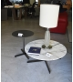 Ex Display - Bob Poltrona Frau Occasional Table with Marble Top