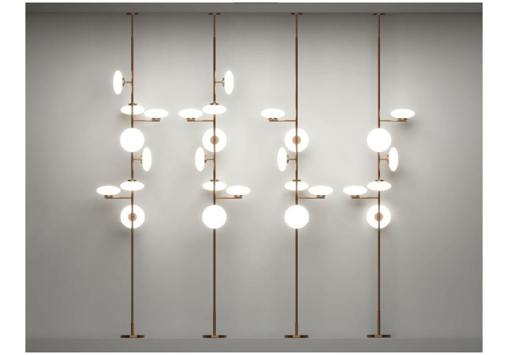 Mam 236 Penta Floor Ceiling Lamp Milia Shop