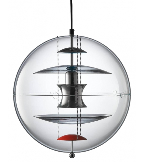 Vp Globe Coloured Glass Verpan Suspension