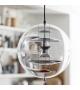 Vp Globe Coloured Glass Verpan Lámpara de Suspensión