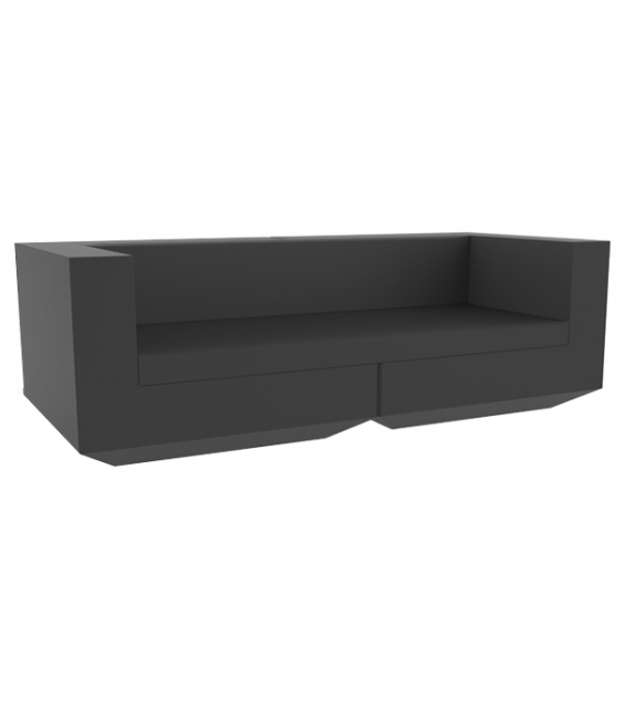 Vela Modular Sofa right Chaise Longue Vondom