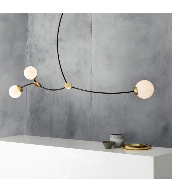 Ivy Horizontal 3 CTO Lighting Pendant Lamp