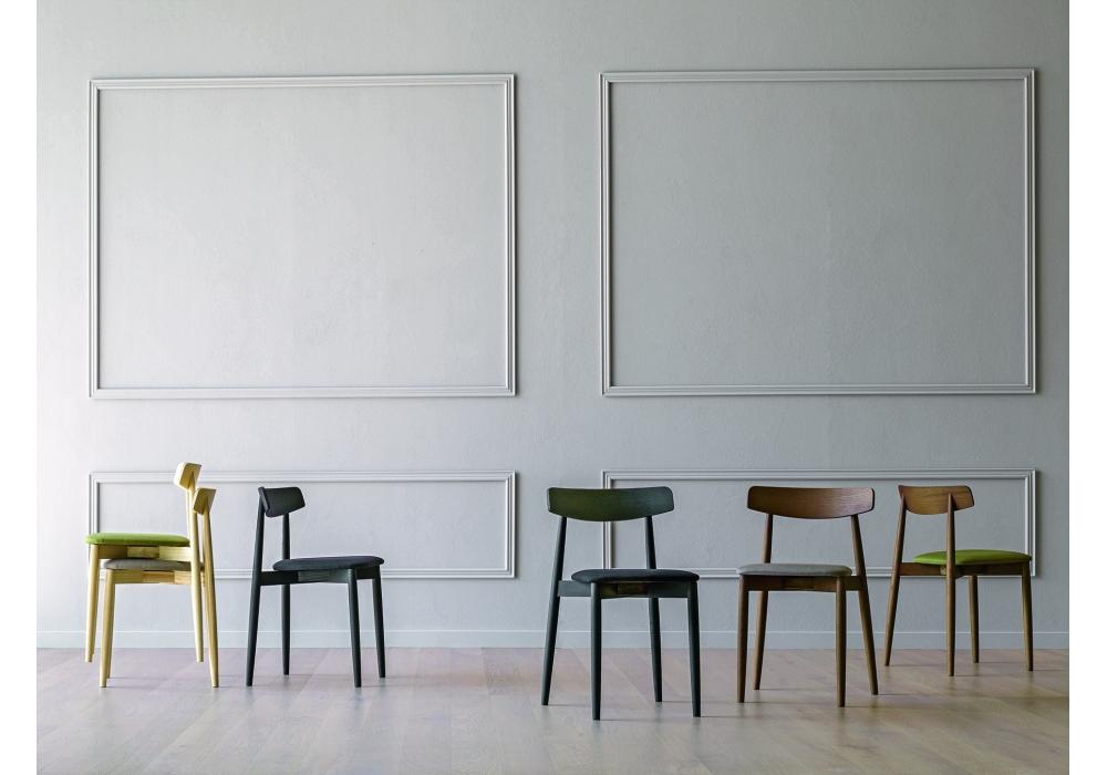 Sedie Blu Elettrico : Claretta miniforms sedia milia shop