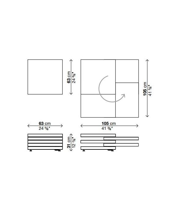 Rotor tavolino