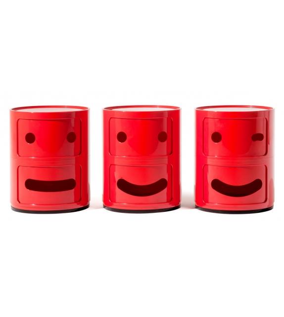 Componibili Smile Kartell Meuble Conteneur