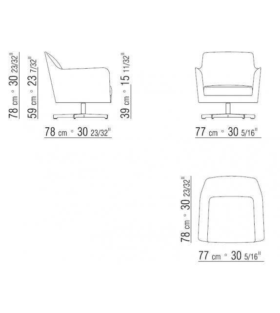 Luce Flexform Armchair