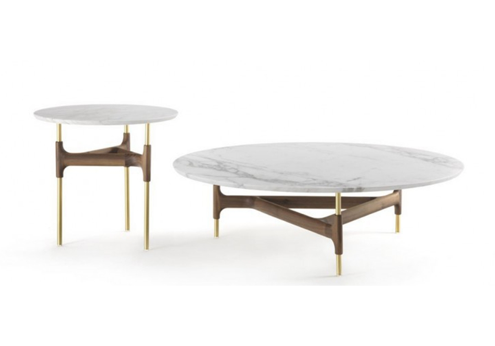 joint porada table basse avec plateau en marbre milia shop. Black Bedroom Furniture Sets. Home Design Ideas
