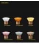 Muffins wood 01 lampada da tavolo/terra