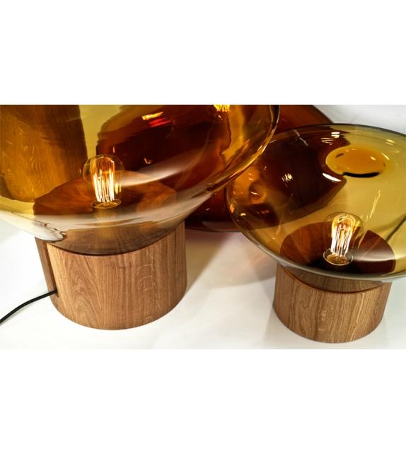 Muffins wood 02 lampada da tavolo/terra