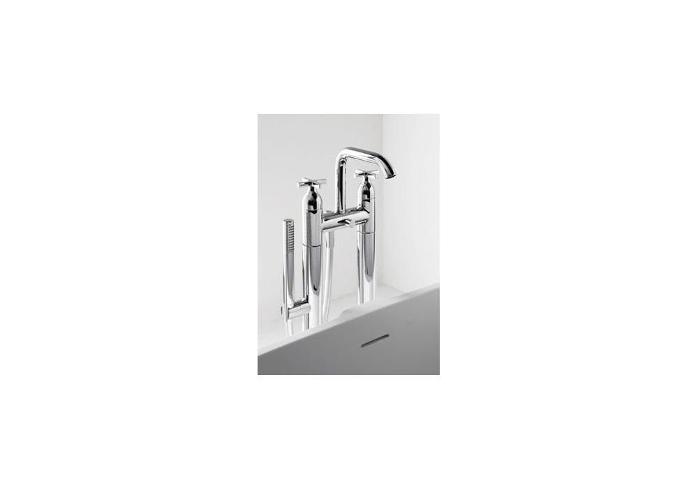 Altezza Vasca Da Terra : Memory agape rubinetto vasca a pavimento milia shop
