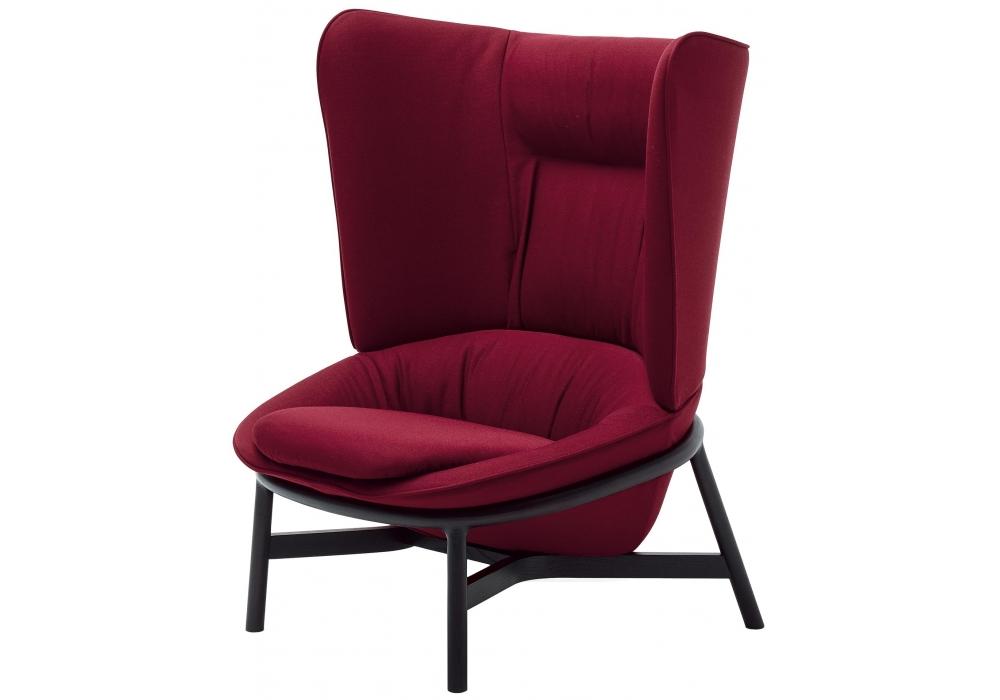Ladle arflex butaca con base de madera milia shop - Butaca chaise longue ...