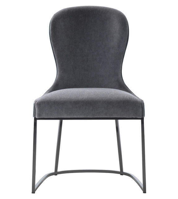You Flexform Chair with Metal Base