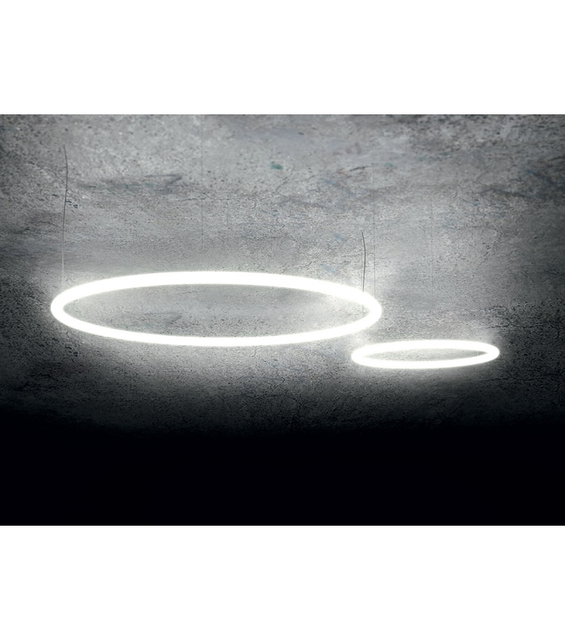 Lighting Lamp: Alphabet Of Light Artemide Suspension Lamp