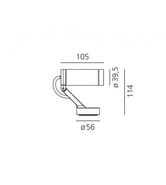 Obice Micro Artemide Wand/Deckenleuchte