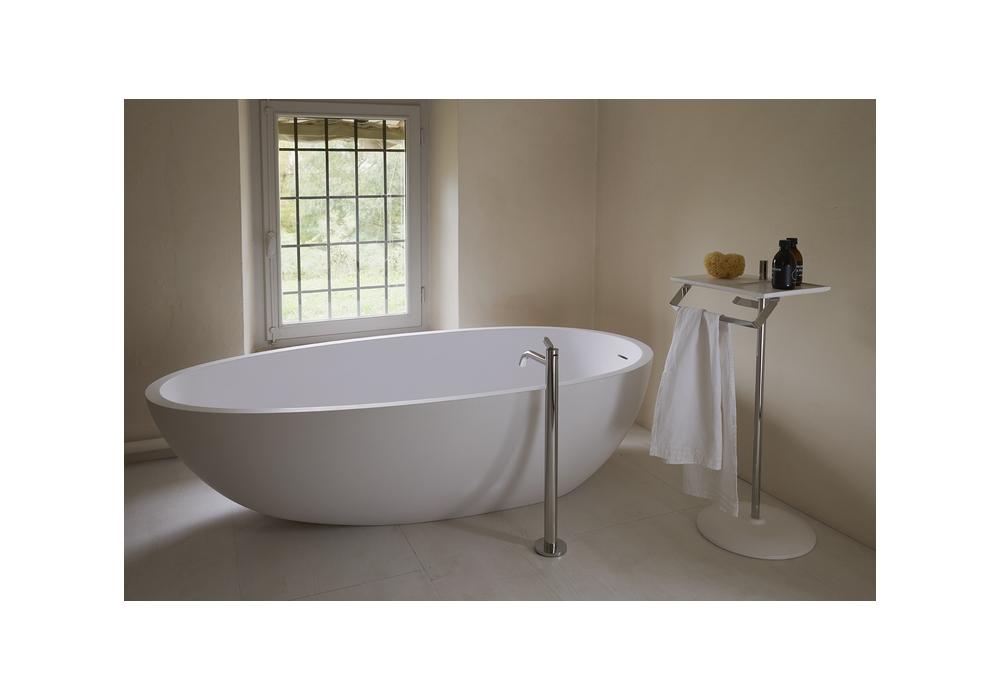 Square Agape Floor Bathtub Tap - Milia Shop