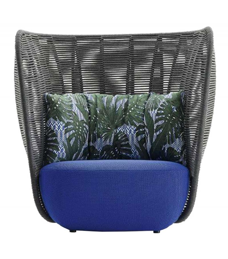 Bay b b italia outdoor armchair milia shop for B b italia outdoor