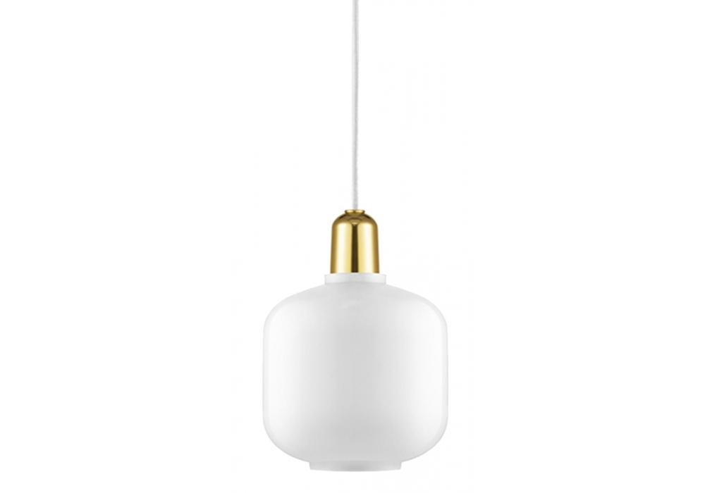 Amp Brass Normann Copenhagen Pendant Lamp Milia Shop