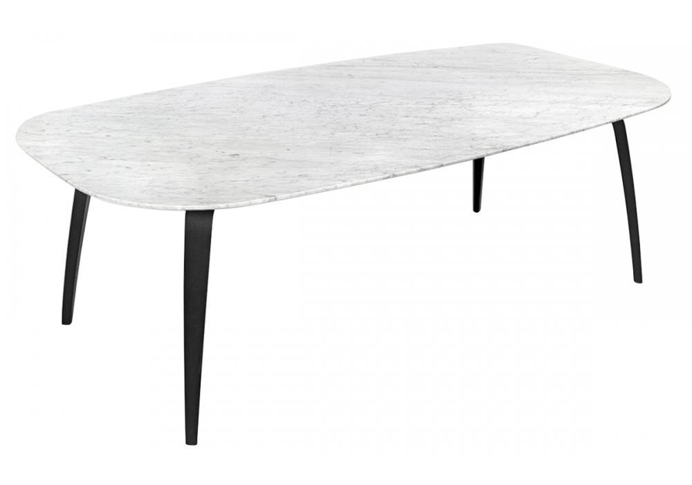 Dining table marble gubi tisch milia shop for Carrara marmor tisch