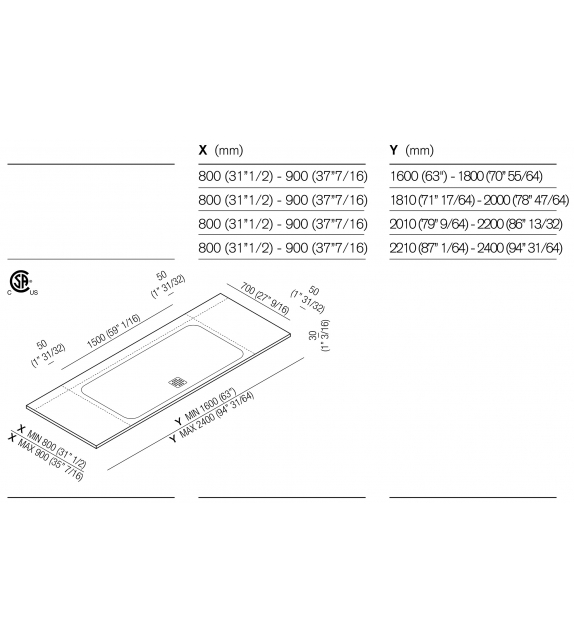 PDX Agape Shower Tray