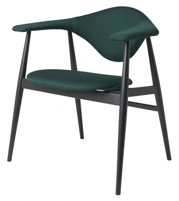 Masculo Gubi Chair with Wooden Base