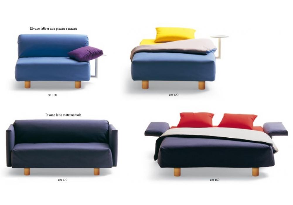 Divano Letto 160 X 80.Istante Campeggi Sofa Bed Milia Shop