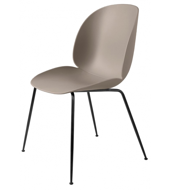 Beetle Dining Gubi Chair with Conic Base