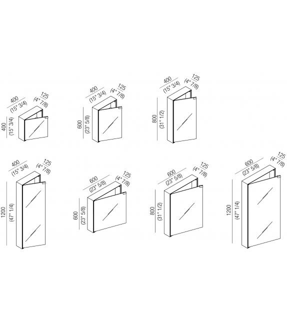 4x4 Agape Espejo Contenedor