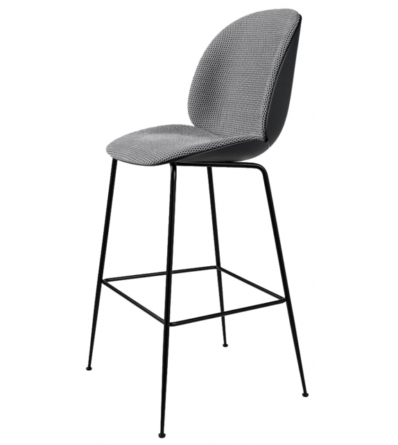 Beetle Gubi Front Upholstered Bar Chair