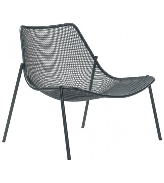 Round Emu Lounge Armchair