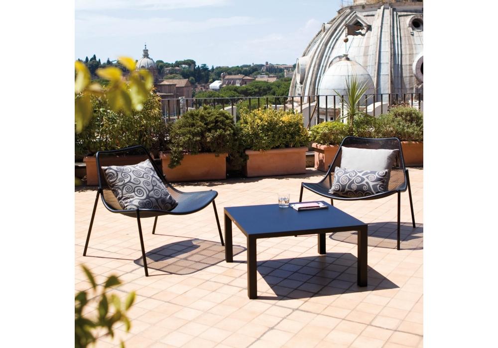 Round Emu Lounge Armchair Milia Shop