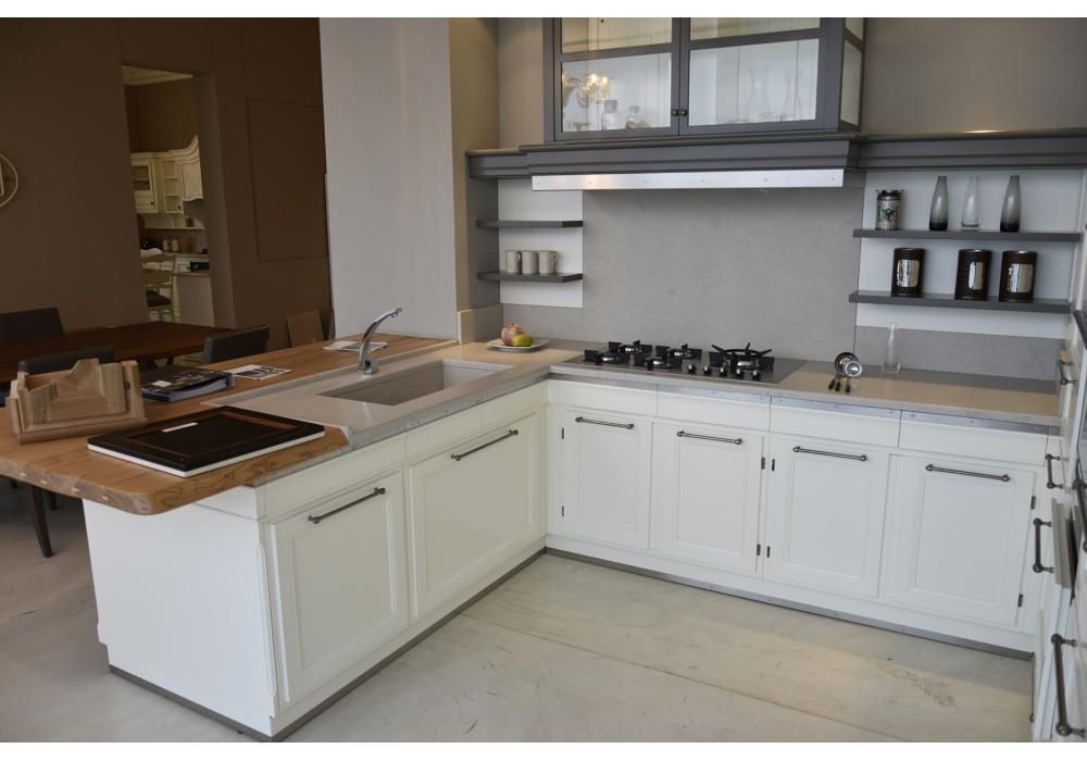 En exposition living design l 39 ottocento cuisine milia shop for Cuisine design en l