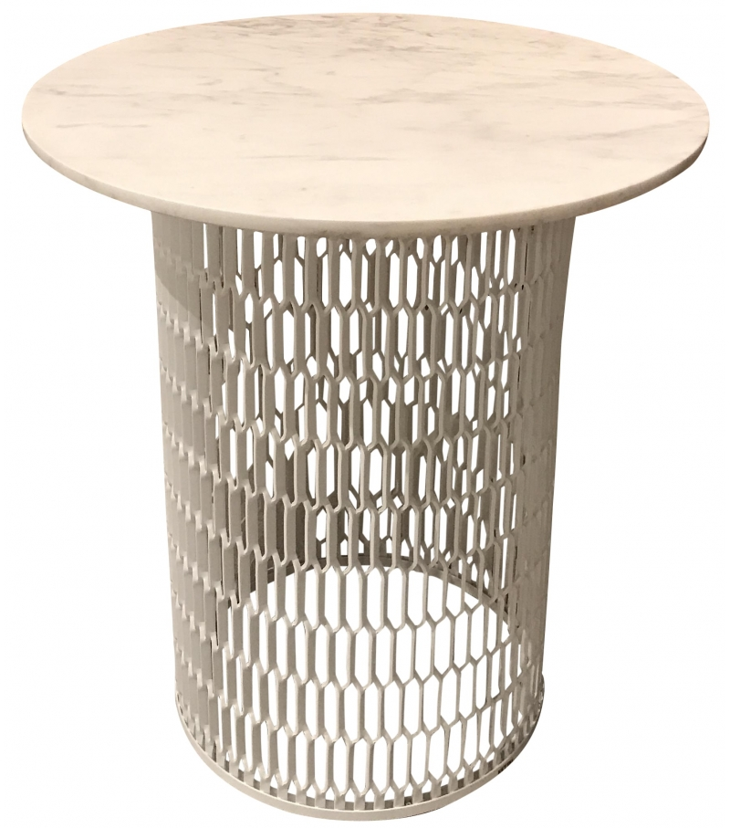 Industrial Mesh Coffee Table: Mesh Kettal Side Table