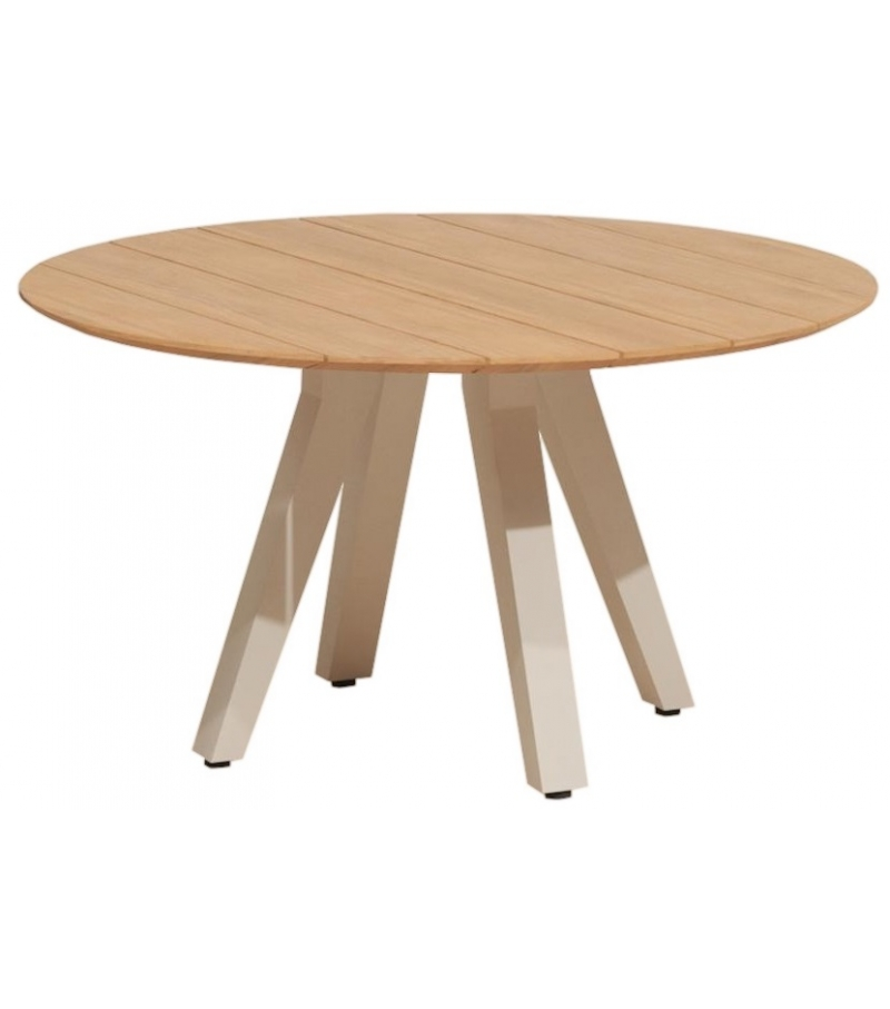 Vieques kettal table manger ronde milia shop for Table ronde a manger