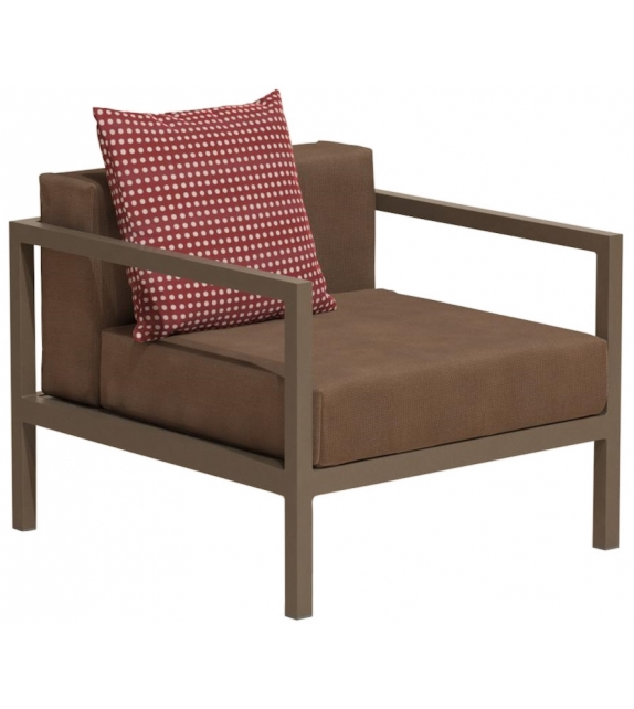 Chaise Lounge Kettal: Landscape Kettal Poltrona Club L