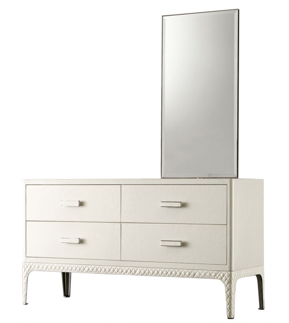 Ex Display - Dorian Rugiano Chest Of Drawers With Mirror