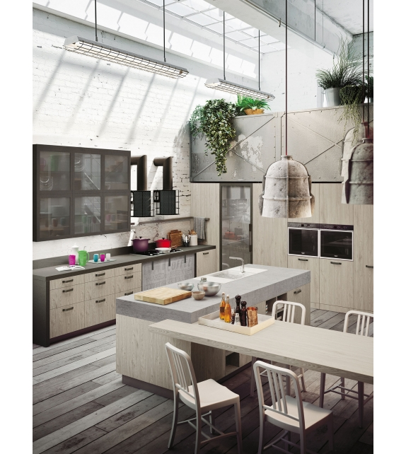 Snaidero loft kitchen milia shop for Snaidero kitchen