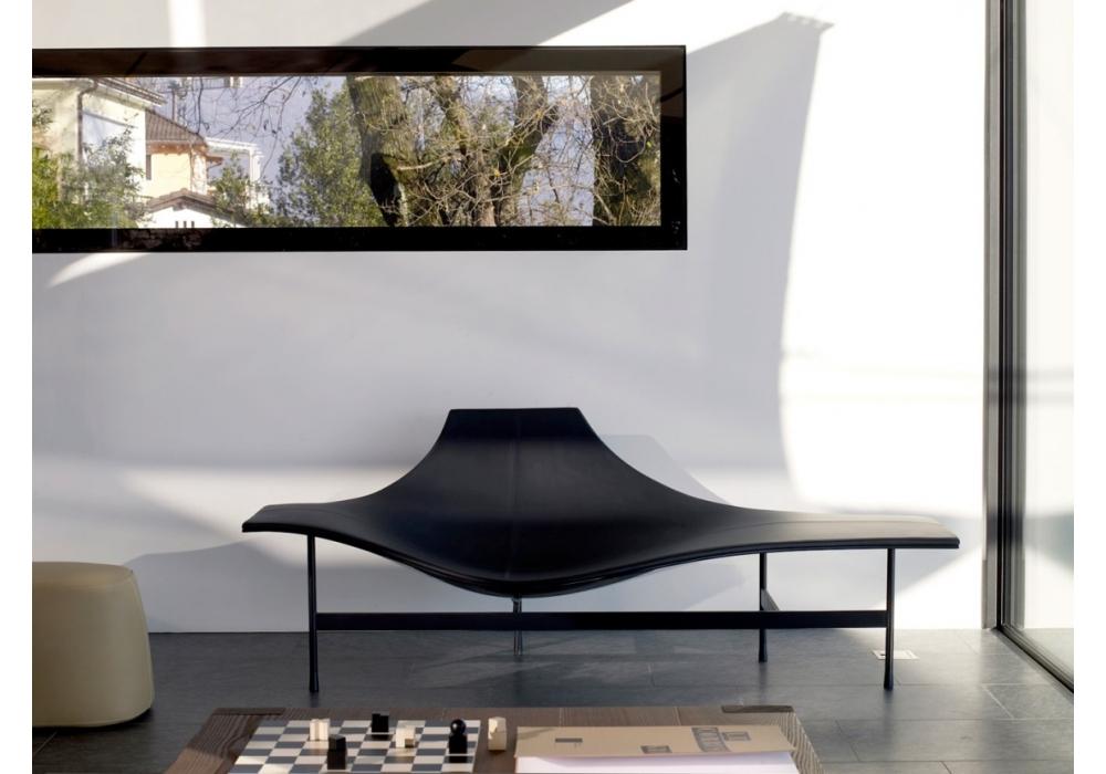 Terminal 1 chaise longue milia shop for Chaise longue classic design italia
