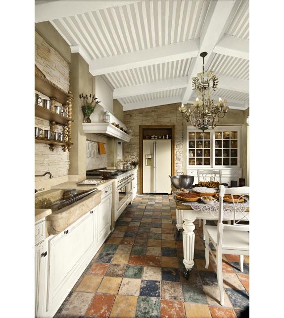 Old style l 39 ottocento cucina milia shop - Cucine old style ...